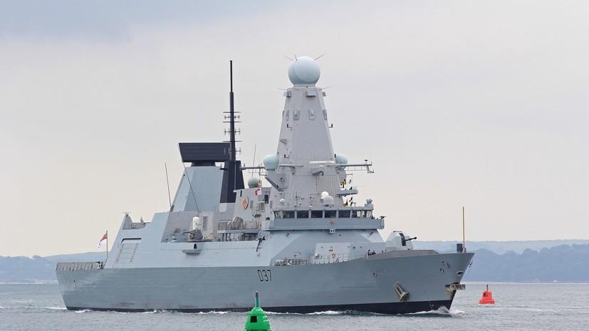 Военный эксперт оценил данные о группе кораблей НАТО в Чёрном море