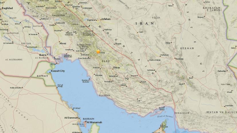 Число пострадавших при землетрясении в Иране превысило 100