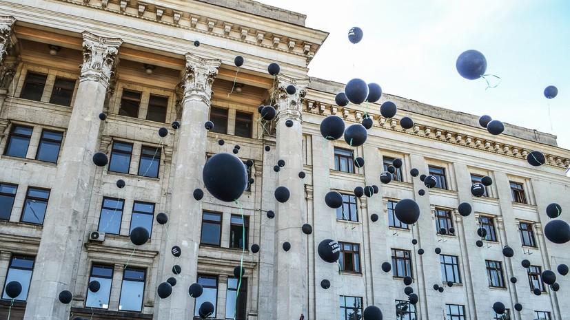 В полиции рассказали о пострадавшем в результате столкновений в Одессе