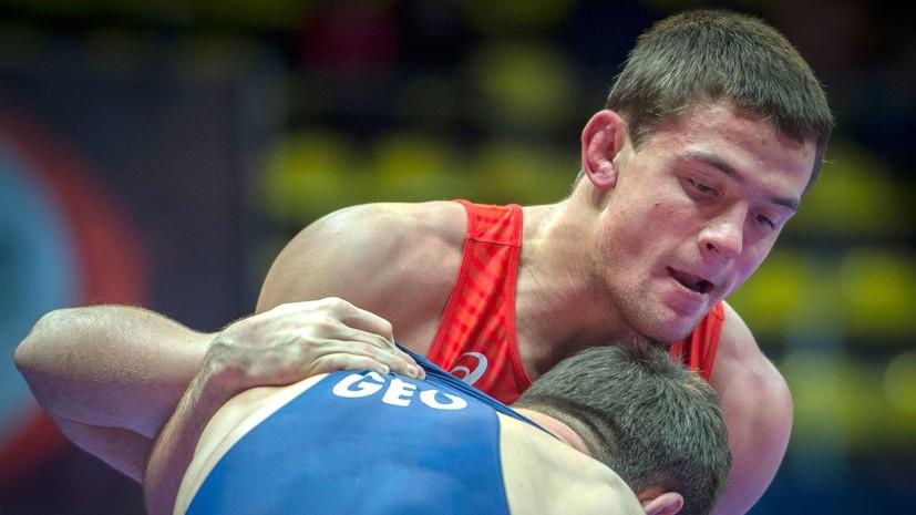 Россиянин Сурков стал чемпионом Европы по греко-римской борьбе в весовой категории до 67 кг