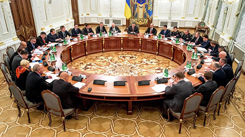 В СНБО поддержали предложение прекратить участие Украины в деятельности органов СНГ