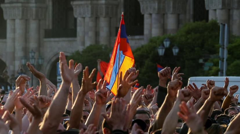 Правящая партия Армении обеспечит избрание премьер-министра
