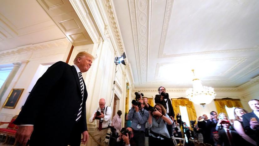Трамп рассказал о прибытии американской делегации в Китай для торговых переговоров