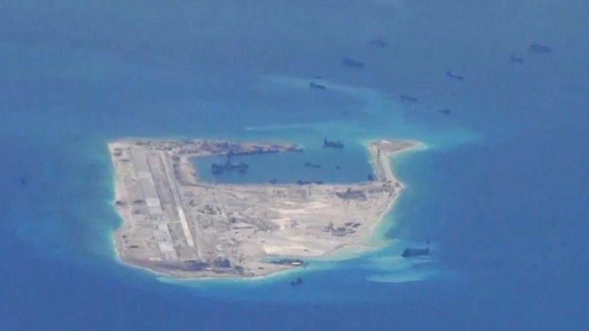 СМИ: Китай перебросил ракетные комплексы на территорию спорных островов Спратли