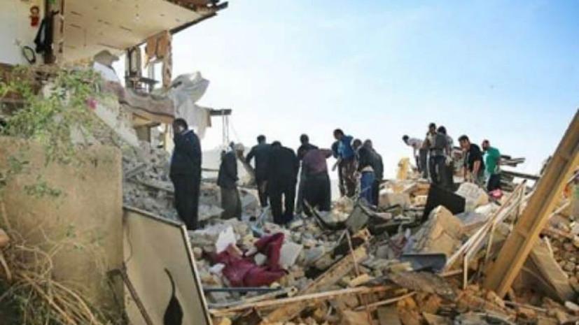 Число пострадавших в результате землетрясения в Иране превысило 130