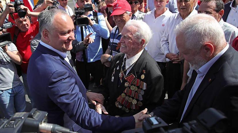 Додон примет участие в марше «Бессмертного полка» в Кишинёве