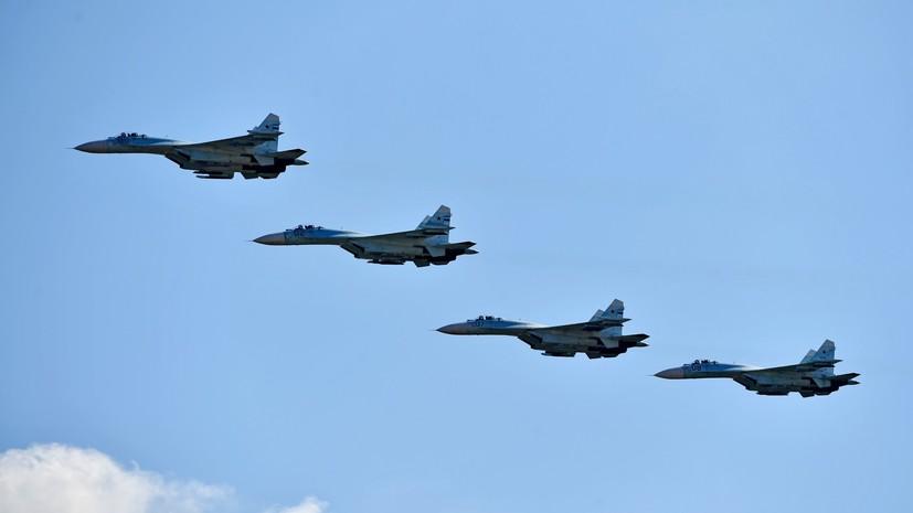 Эксперт прокомментировал заявление американских СМИ о возможностях российского Су-27