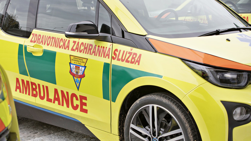 В Чехии в результате столкновения двух поездов пострадали шесть человек