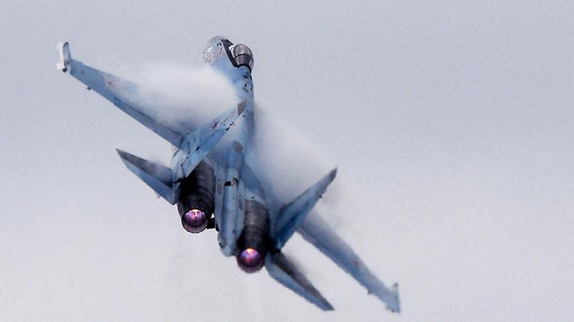 «Никакого огневого воздействия не было»: российский истребитель Су-30 потерпел крушение в Сирии