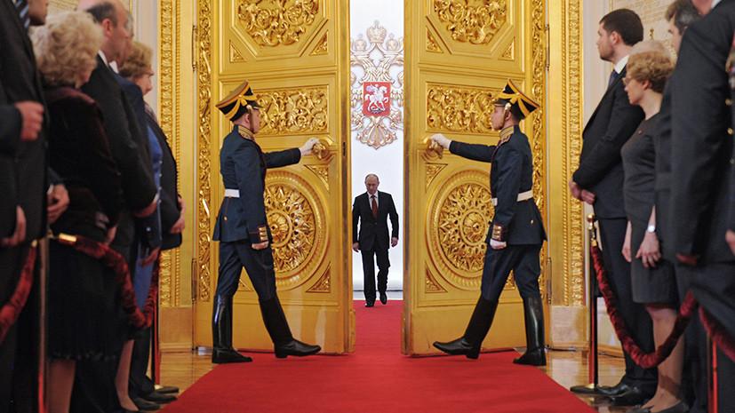 Песков рассказал подробности подготовки инаугурации Путина
