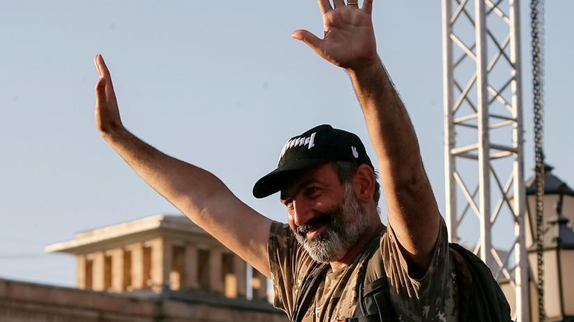 Пашинян вновь выдвинут кандидатом на пост премьер-министра Армении