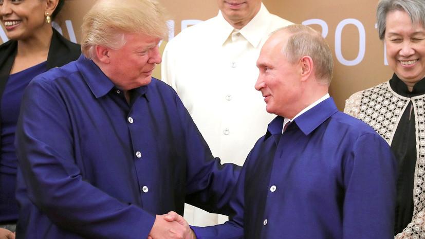 Песков заявил об отсутствии ясности касательно проведения встречи Путина и Трампа