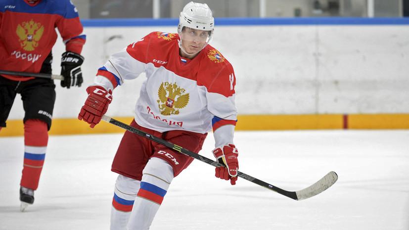 Песков: Путин не будет играть в хоккей в день инаугурации