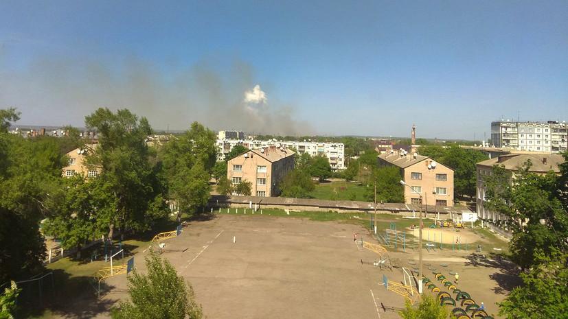 Украинская полиция возбудила дело по факту пожара на складе в Балаклее