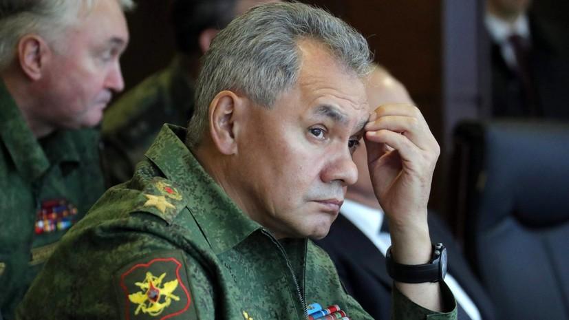 Шойгу обсудил с командующим Ливийской национальной армией борьбу с терроризмом