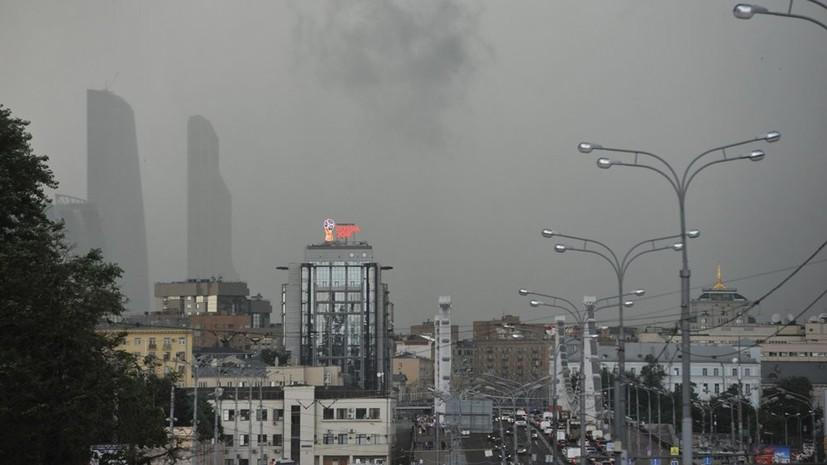 МЧС предупреждает жителей о грозе и усилении ветра в ближайшие часы в Москве
