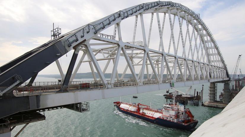 Украинские националисты намерены устроить акцию на Крымском мосту