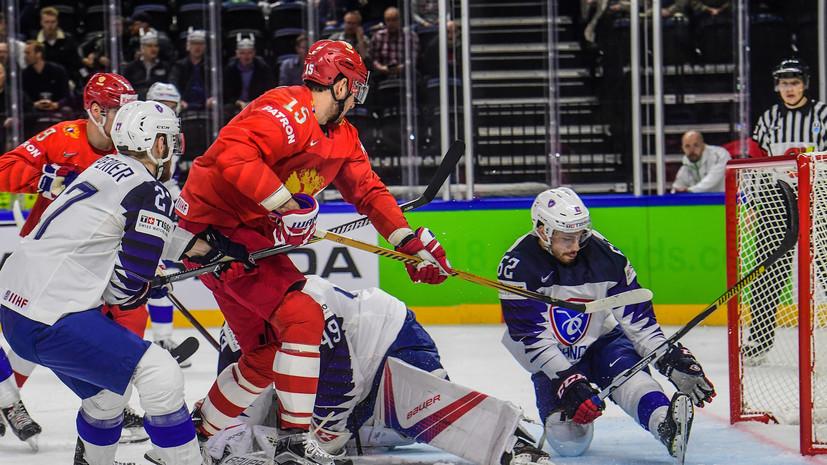 Министр спорта России прокомментировал победу национальной сборной в первом матче ЧМ по хоккею