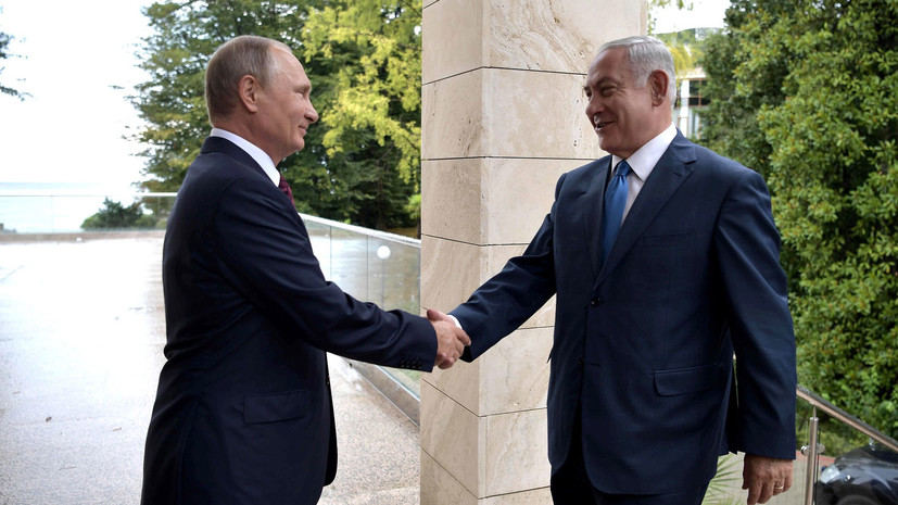 Путин и Нетаньяху проведут переговоры 9 мая в Москве
