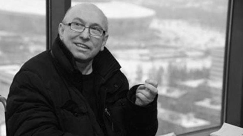 Умер директор «Машины времени» Владимир Сапунов