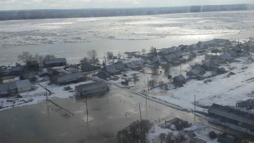 Более 200 человек эвакуированы в результате подтопления в Красноярском крае