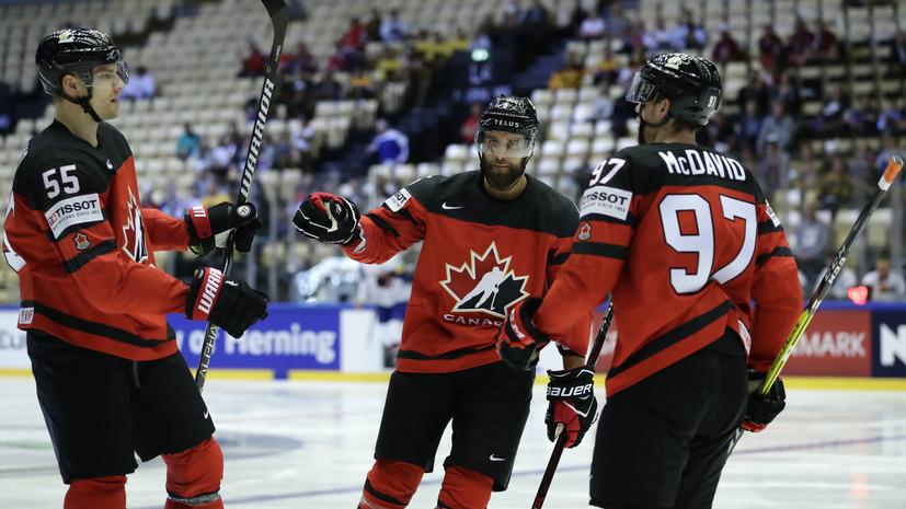 Очередной разгром от России, 10 шайб Канады и бомбардирские подвиги Ахо: итоги третьего дня ЧМ по хоккею