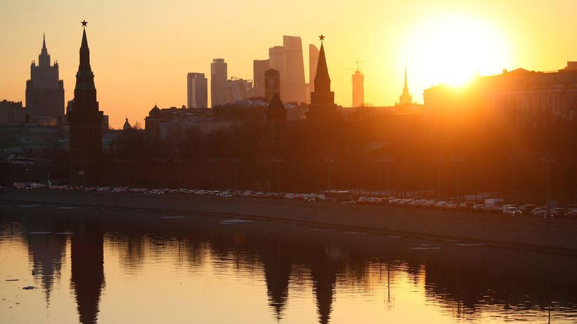 Синоптики прогнозируют 9 мая тёплую погоду в Москве