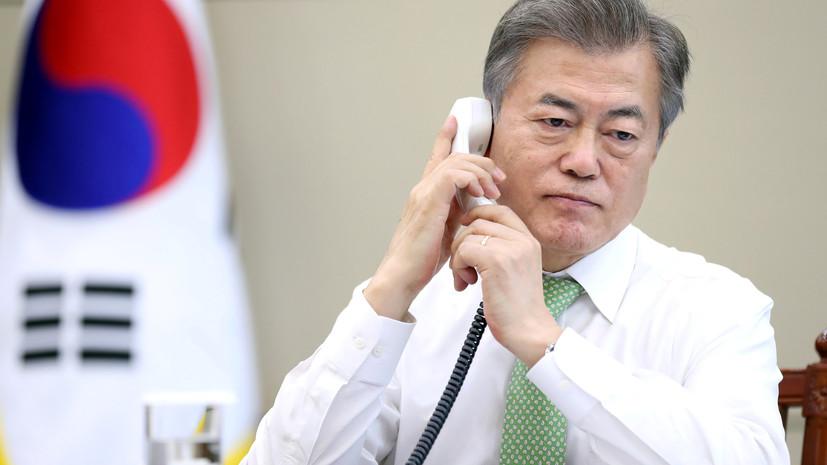 СМИ: Мун Чжэ Ин передал лидеру КНДР флешку со стратегией развития экономики полуострова