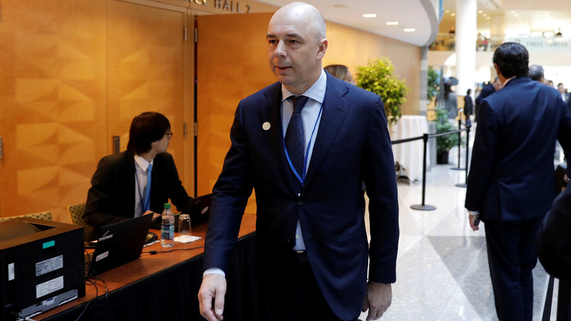 Медведев предложил кандидатуру Силуанова на пост первого вице-премьера