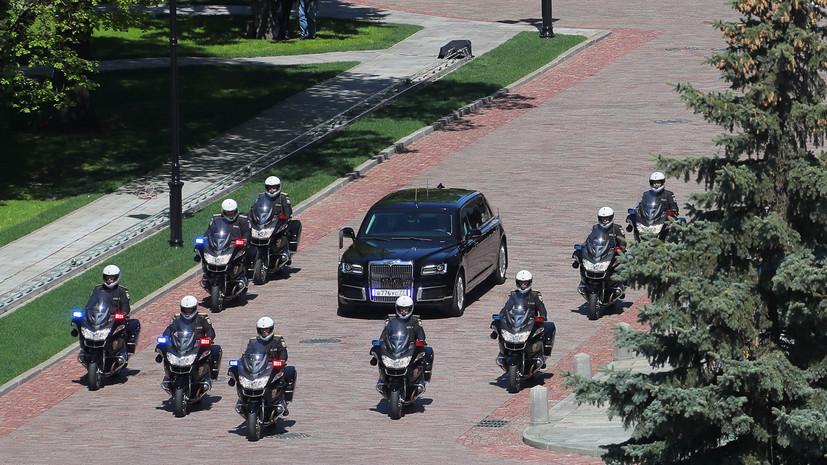 Песков: Путин будет постоянно пользоваться автомобилем проекта «Кортеж»