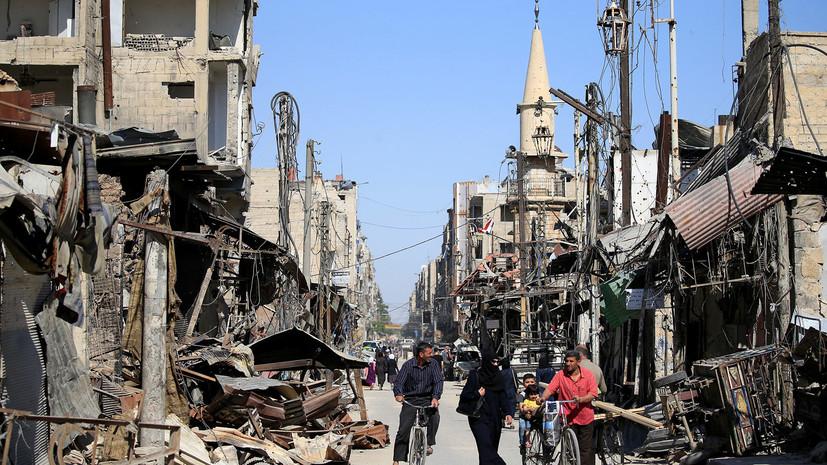 Британия обвинила Сирию в «прикрытии программы химического оружия»