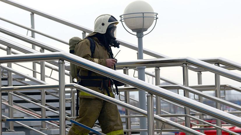 Почти 300 человек эвакуировали из-за возгорания в школе Уфы