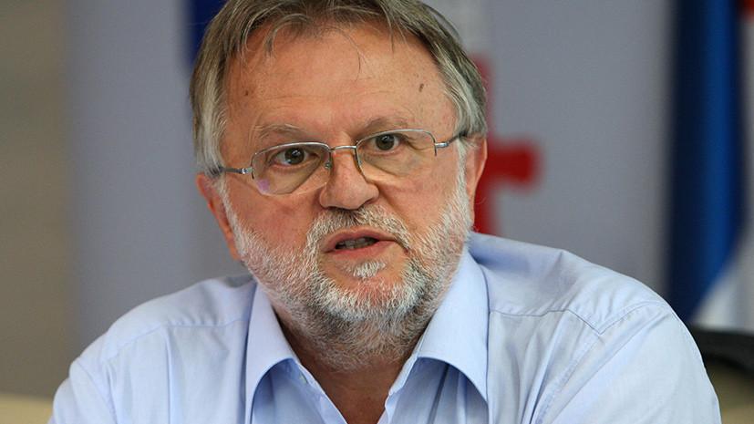 Министр финансов Сербии подал в отставку