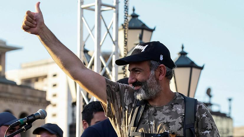 Лидер оппозиции снова официально выдвинут на пост премьера Армении