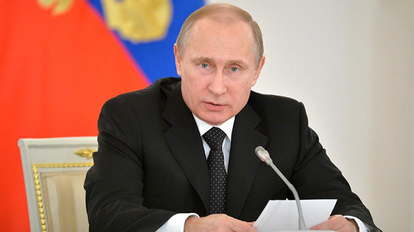 Путин поздравил лидеров стран бывшего СССР с Днём Победы