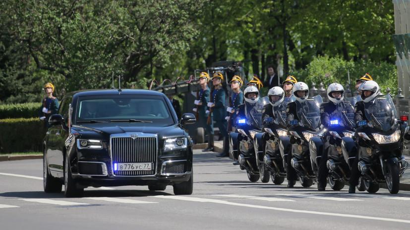 Песков заявил, что Путину понравился автомобиль проекта «Кортеж»