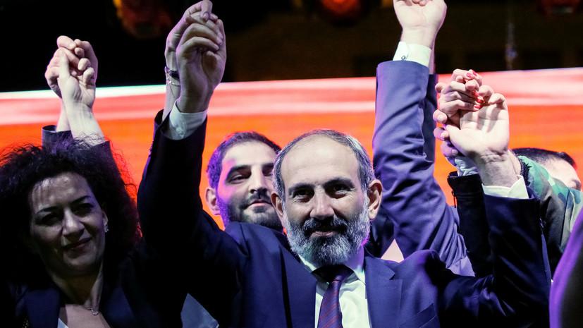 В ЕС прокомментировали избрание Пашиняна премьер-министром Армении