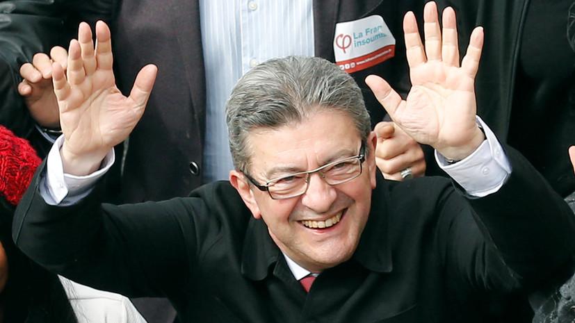 Французский политик Меланшон встретится с депутатами Госдумы