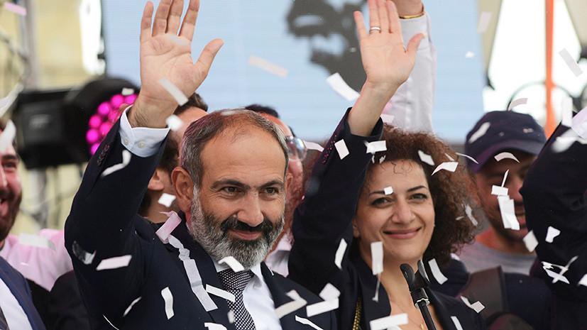 «Приоритет — союзнические отношения с Россией»: президент Армении подписал указ о назначении Пашиняна премьер-министром