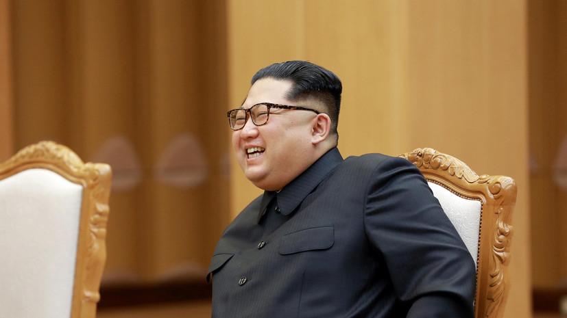 Ким Чен Ын назвал условие отказа Северной Кореи от ядерного оружия