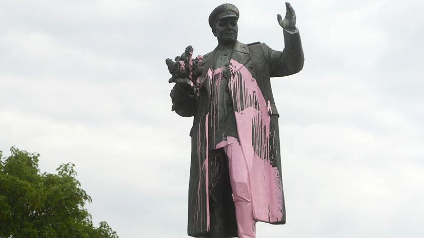 В МИД России рассчитывают, что власти Чехии восстановят памятник маршалу Коневу