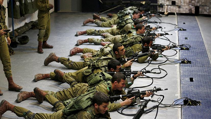 Армия Израиля приведена в повышенную боеготовность из-за «активности Ирана» в Сирии