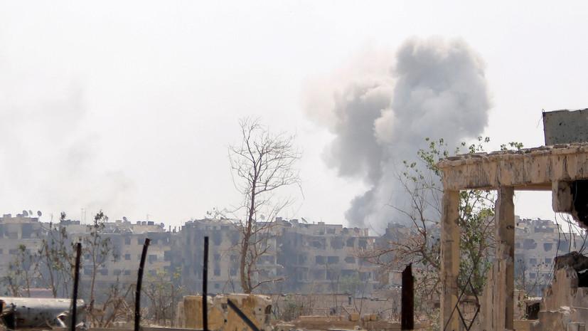 Израиль нанёс удар по Сирии, погибли два мирных жителя