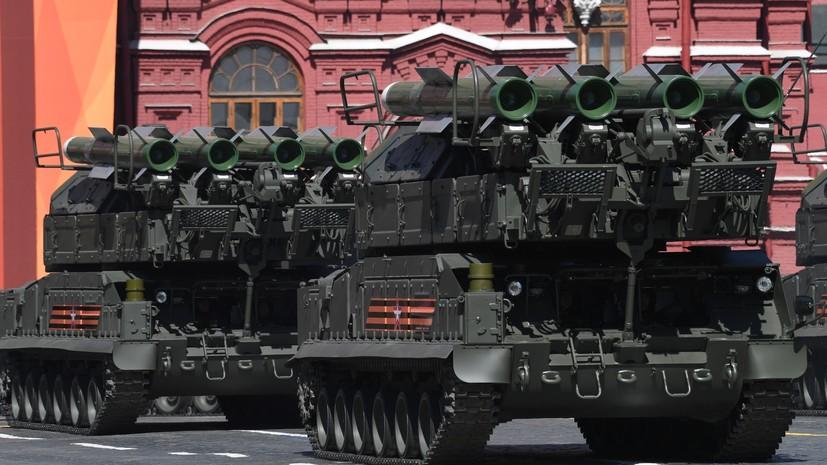 На Красной площади завершился парад в честь 73-й годовщины Победы