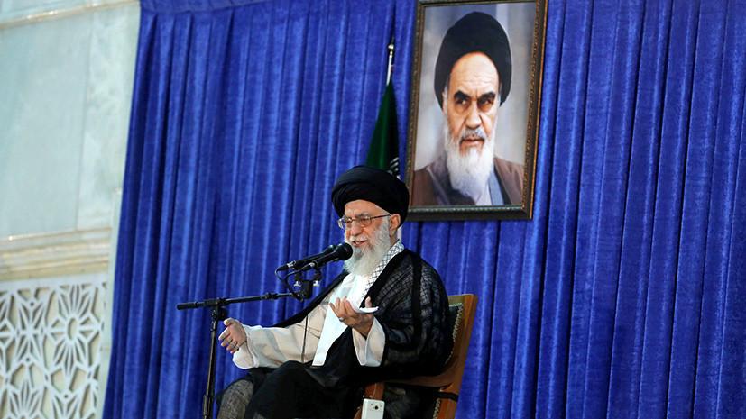 Лидер Ирана обвинил Трампа в многократной лжи