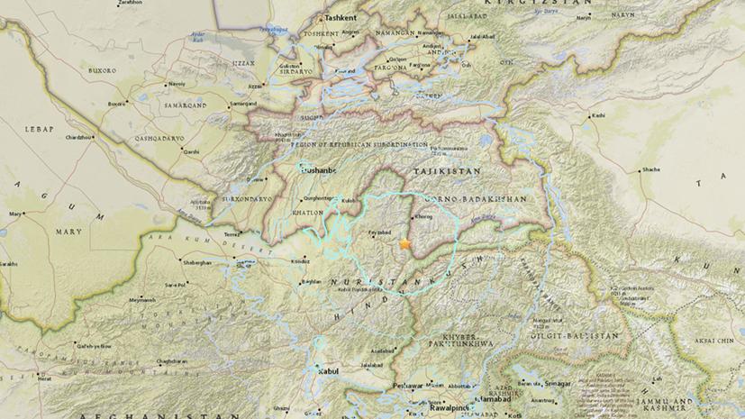 Землетрясение вТаджикистане не воздействовало  набоеготовность 201-й военной базы