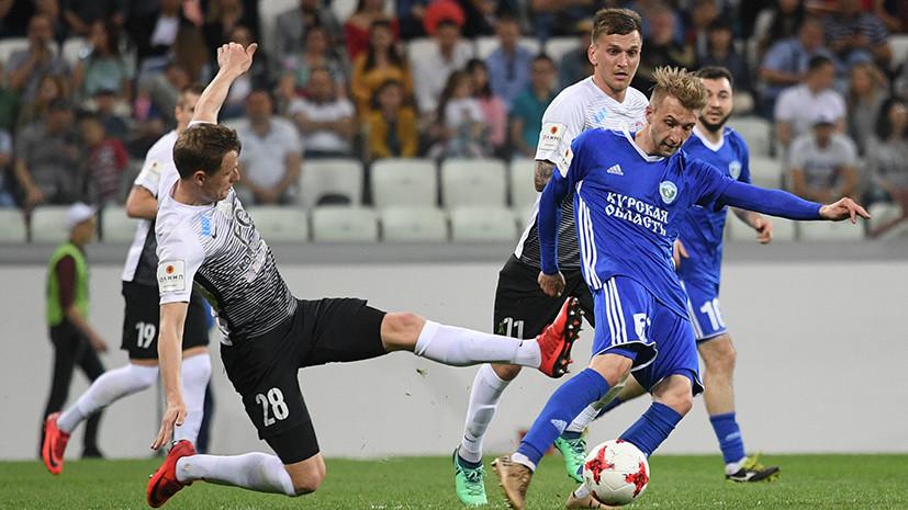 «Тосно» обыграл «Авангард» и впервые в своей истории стал обладателем Кубка России по футболу