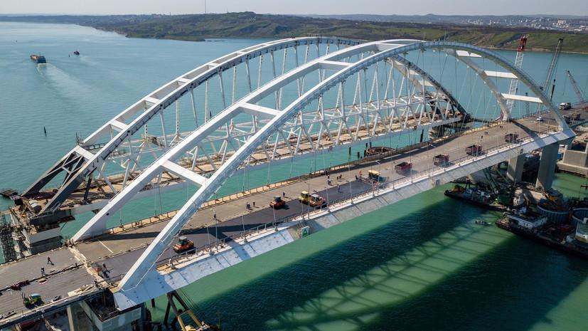 Песков рассказал, приедет ли Путин на открытие Крымского моста