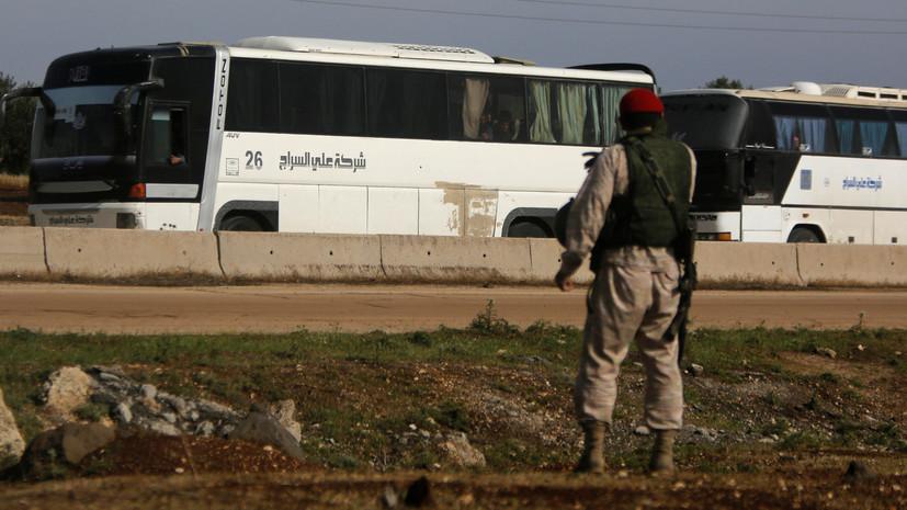 Пригород Дамаска освободили оттеррористов