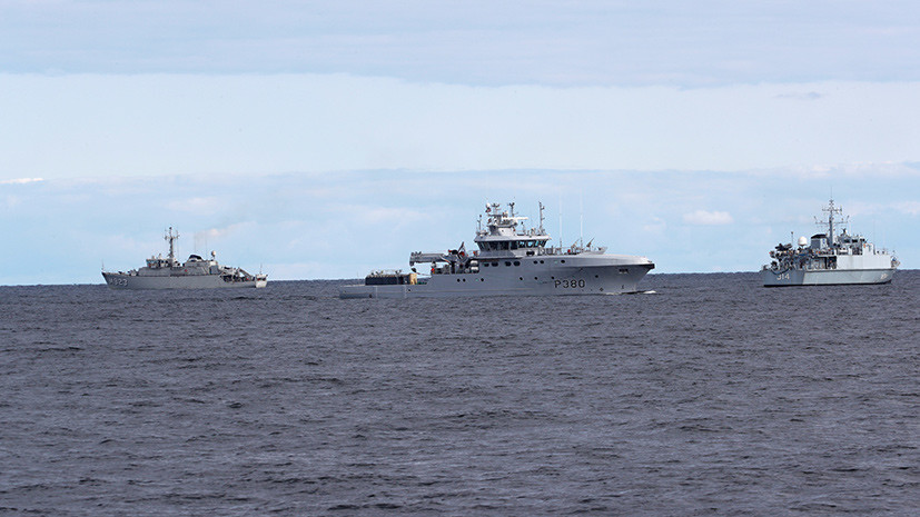Корабли НАТО прибыли на учения в Эстонию